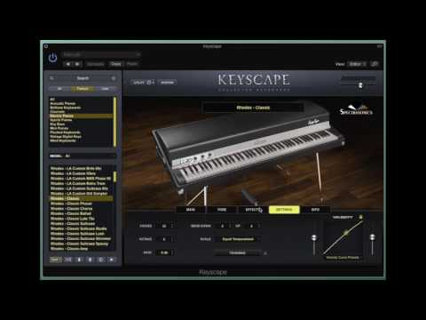 Spectrasonics Keyscape - First Impressions by Mike Pensini