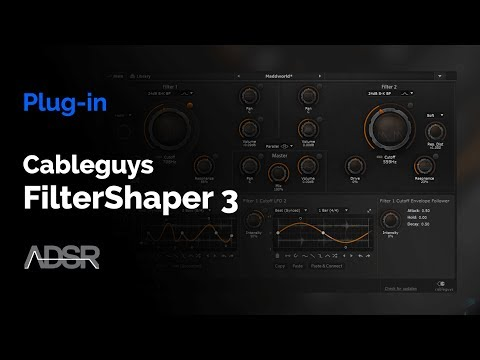 FilterShaper 3 - Cableguys : Powerful Filters