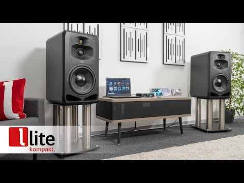 Farfield-Monitor ADAM Audio S5V – Profi-Beschallung im Wohnzimmer - erklärt