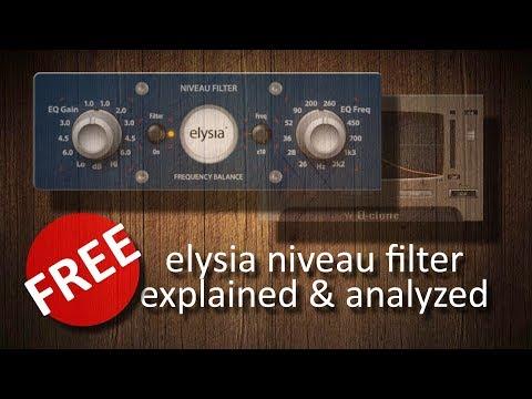 FREE elysia niveau filter explained & analyzed