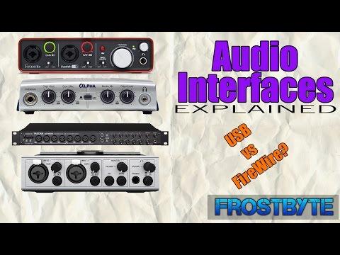 FireWire vs USB? | Audio Interfaces