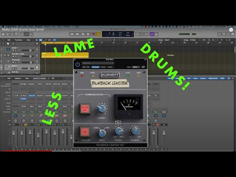 Less Lame Drums with the Talkback Limiter