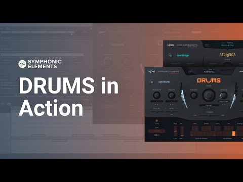DRUMS in Action | Symphonic Elements DRUMS & STRIIIINGS