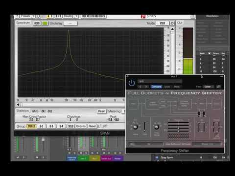 Full Bucket Music FBM Frequency Shifter free vst au plugin quick demo test