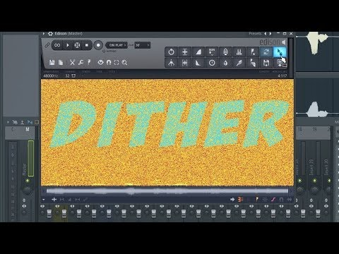 Explaining Dithering And Showing Of Dither vs Non Dithered