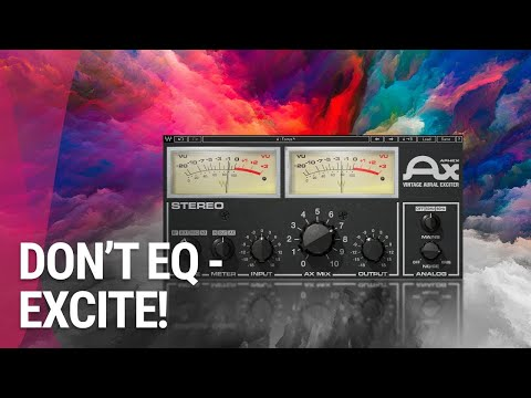 Make Mixes Brighter, not Harsher: Aphex Exciter Tutorial