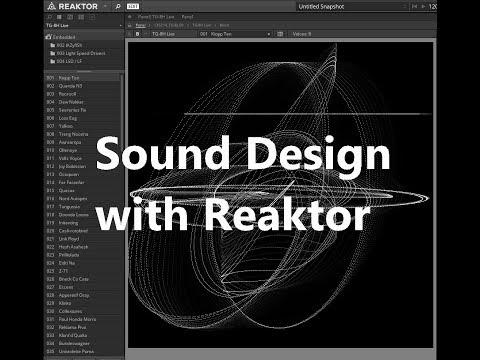 Sound-Design with Reaktor 6 VST