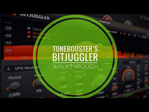 ToneBoosters BitJuggler Pt 1: Full walkthrough - superb vintage digital FX