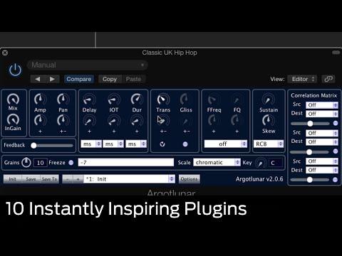 10 Instantly Inspiring VST/AU Plugins: Argotlunar by Michael Ourednik