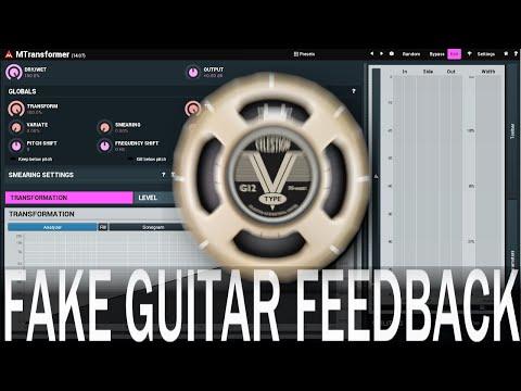 Fake Guitar Feedback with MTransformer