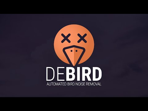 DEBIRD - Automated Bird Noise Removal | Trailer
