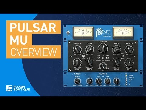 MU by Pulsar | Variable-bias Compressor Tutorial & Review of Main Features