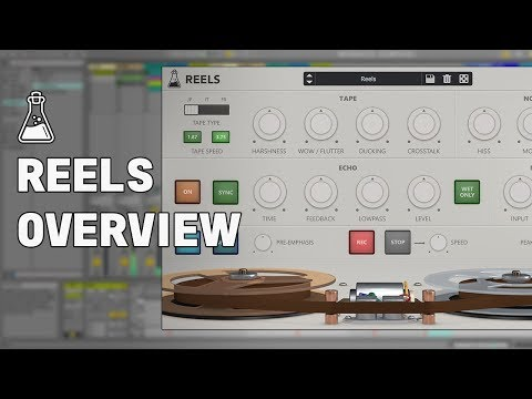 Reels Overview - Reel-to-Reel Emulation + Tape Stop Plugin