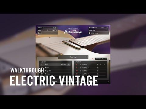 ELECTRIC VINTAGE Walkthrough   Native Instruments