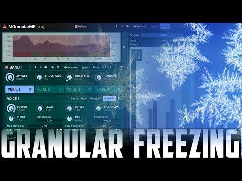 Granular freezing with MGranularMB