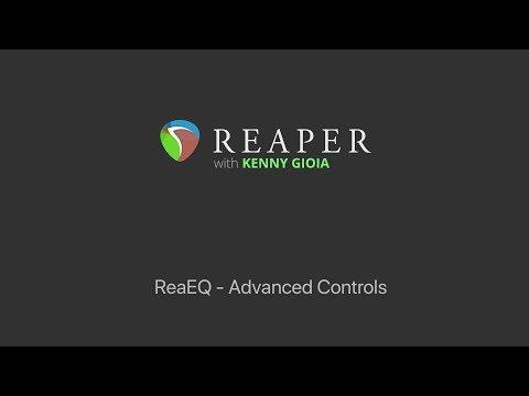 ReaEQ - Advanced Controls in REAPER
