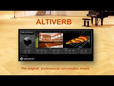 Altiverb 7 guided tour