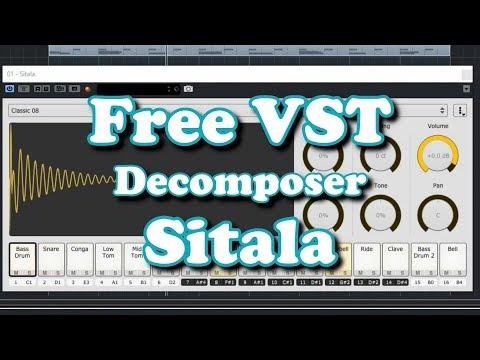 Free VST - Decomposer Sitala - Drum Sample Player