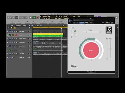 """""""Phat Booster"""" plugin by IQ Samples"""