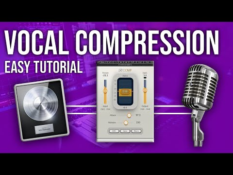 HOW TO COMPRESS VOCALS ON ANY DAW 🔥