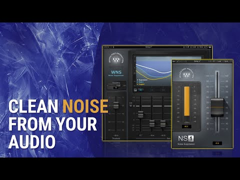 How To Clean Unwanted Noise in Audio: Waves WNS + NS1 Tutorial