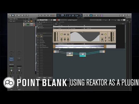 Sound Design Tutorial: Using Reaktor as an Effects Plugin