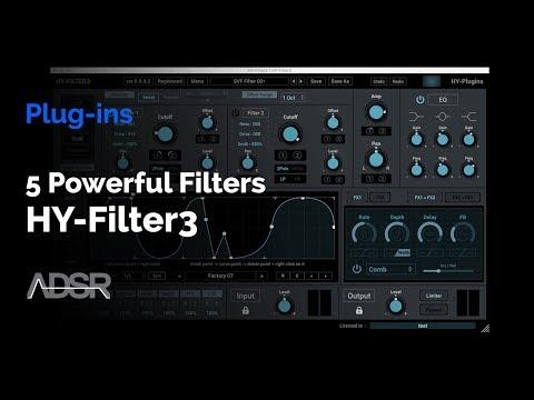HY-Filter3 Walkthrough - 5 Powerful Filters