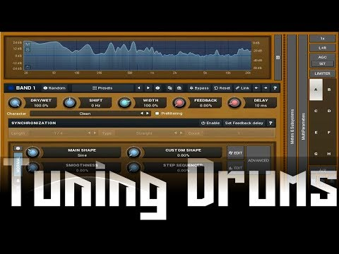 Tuning Drums with MFreqShifterMB
