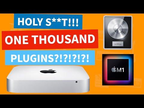 MAC MINI M1 | Audio and Plugin Performance In Logic Pro X | Apple Silicon
