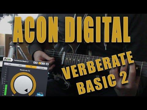 Acon Digital - Verberate Basic 2 - Reverb Guitar Demo (Free Reverb Plugin!)