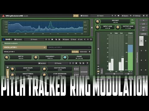 Guitar Synth Sounds with MRingmodulatorMB