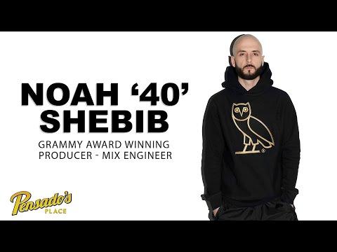 "Grammy Award Winning Producer / Engineer, Noah ""40"" Shebib — Pensado's Place #493"