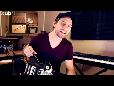 Secrets To How I Record Electric Guitar: (Microphone Placement and Logic Pro X Tutorial)