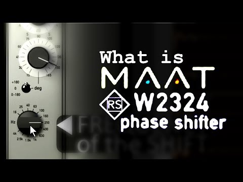 What exactly is MAAT RSPhaseShifter?