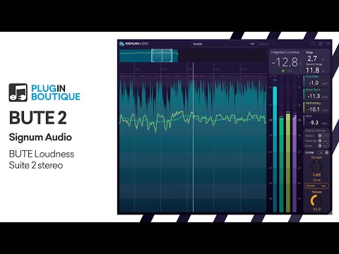 Mastering for Streaming | BUTE Loudness Suite 2 by Signum Audio
