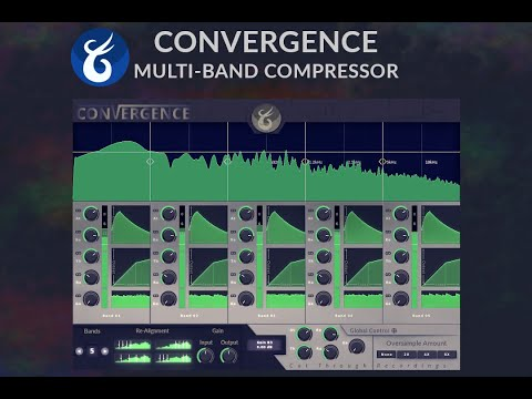 Convergence Multi-band Compressor Plug-in by Cut Through Recordings