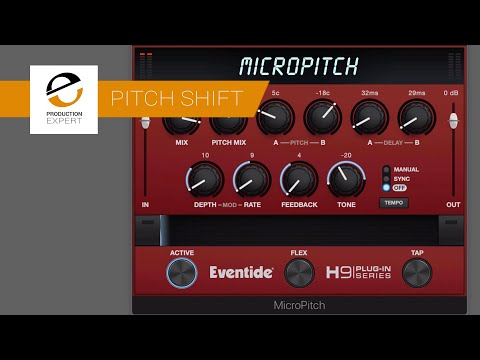 MicroPitch From Eventide Set Up Simple & Intuitive Tone Fattening & Delays In Seconds