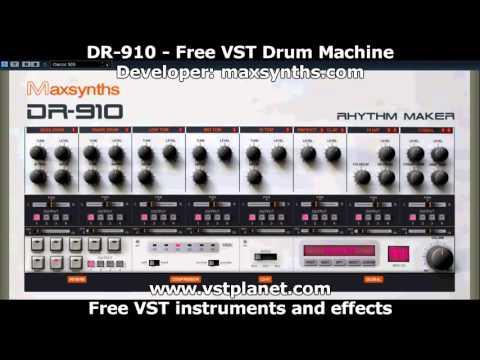 Free VST - DR-910 Drum Machine - vstplanet.com
