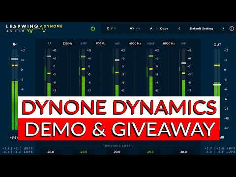 Leapwing DynOne Dynamics: Detailed Demo and Giveaway - Warren Huart: Produce Like A Pro