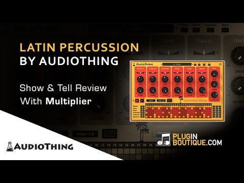 Latin Percussion Drum Machine By AudioThing - Show & Reveal With Multiplier