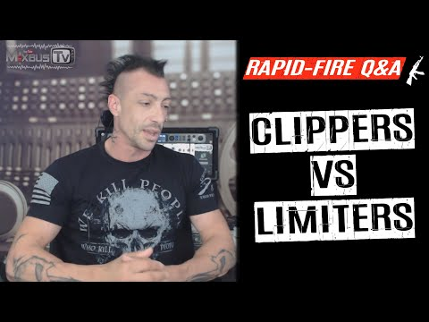 Clippers Vs Limiters Differences and Uses - Rapid-Fire Q&A #19