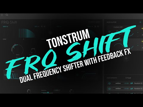 Tonsturm FRQ shift - Dual Frequency Shifter with Feedback FX - Insane Sound Design Tool!