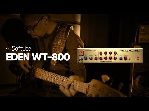 Eden WT–800 Bass Amp – Softube