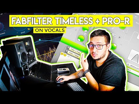 Mixing Trap Vocals with FabFilter plugins | Timeless 2 + Pro-R