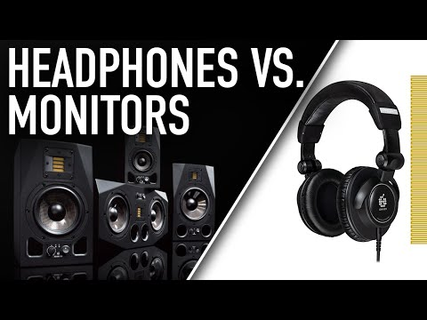 HEADPHONES vs. MONITORS... What to Use When? | ADAM Audio