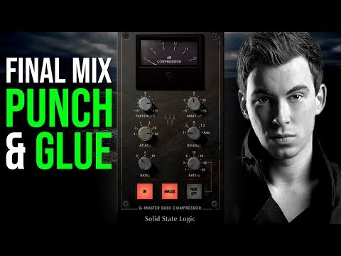 Waves SSL Compressor Tutorial | How To Add Punch To Your Mix & Glue Your Mix Together
