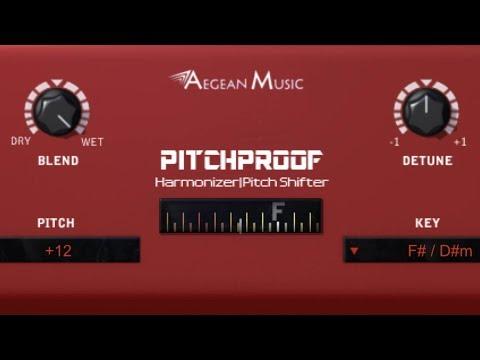 Logic Pro X - Create Vocal Harmonies with Pitchproof | FREE HARMONIZER