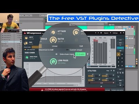 MCompressor - FREE Compressor VST Plugin & Sidechain VST Plugin