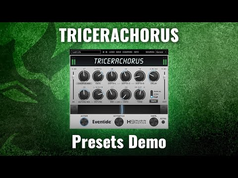 Introducing New Eventide TriceraChorus Plug-in: Presets Demo