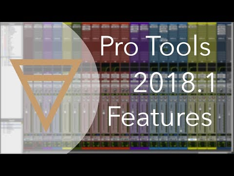 Pro Tools 2018.1 - Features Review
